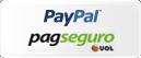 Formas de pagamento PayPal e PagSeguro